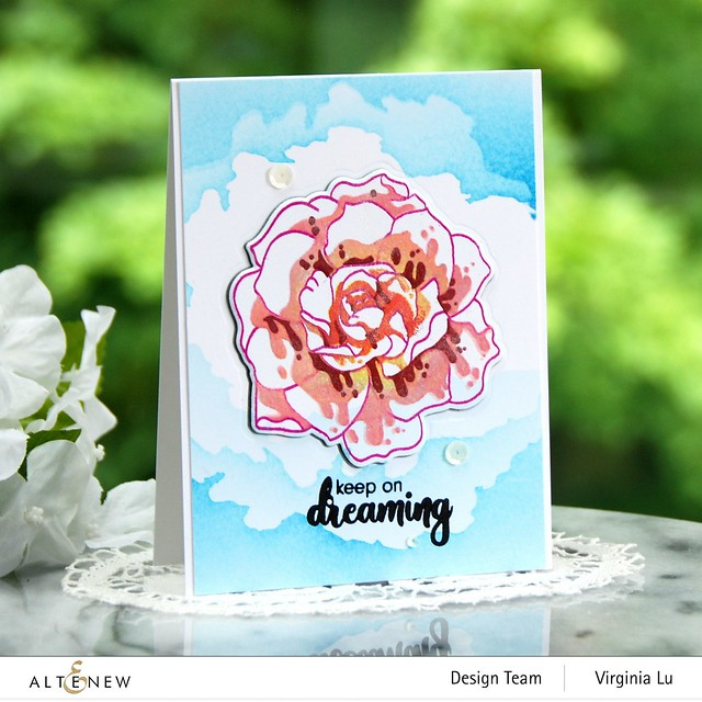 Altenew-Amazing Things Stamp Set-CloudSceneStencil (2)