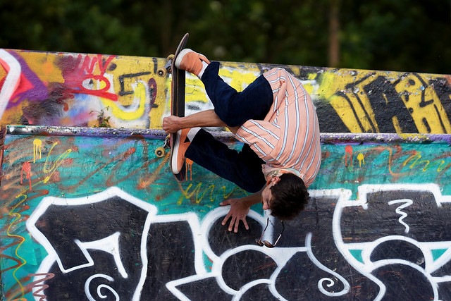 Skatepark Foch à Lyon