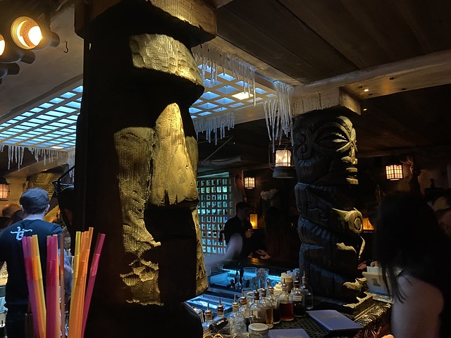 Tikis at UnderTow
