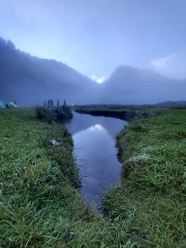 Songluo Lake: reflection