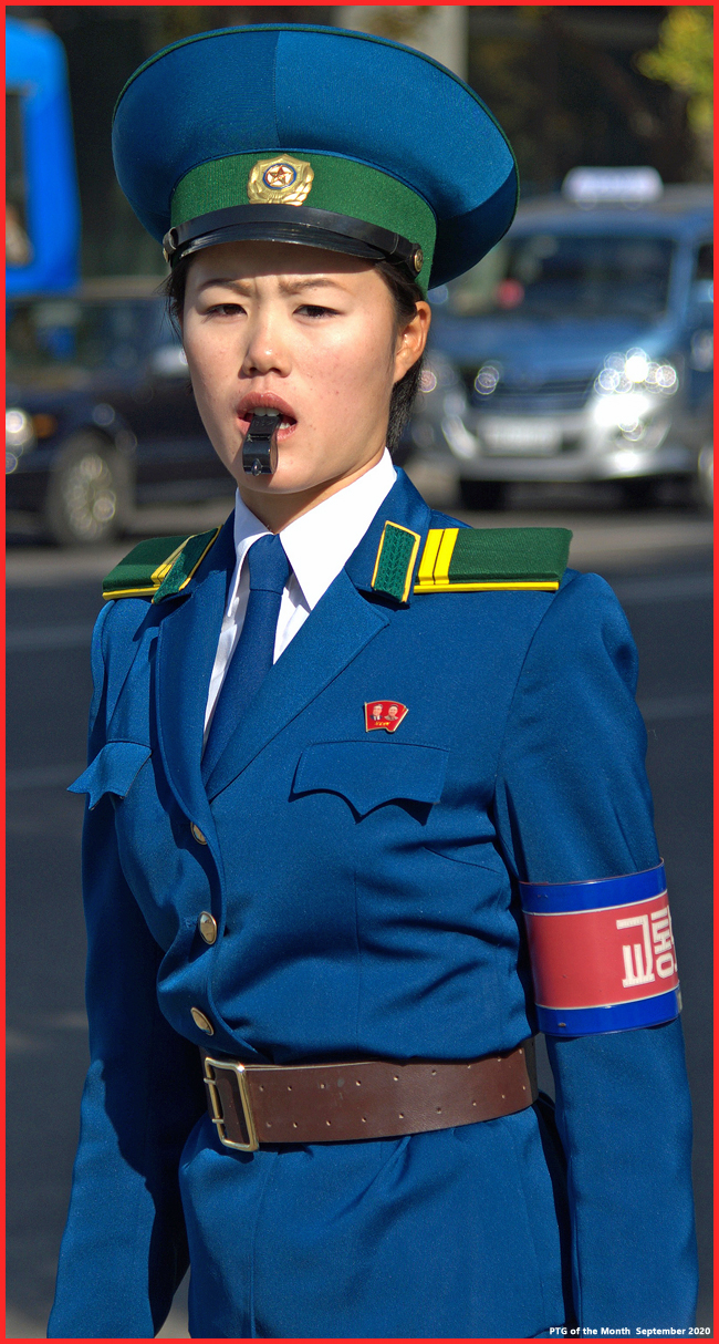 Pyongyang Traffic Girl Of The Month SEPTEMBER 50332412032_45499a4bee_o