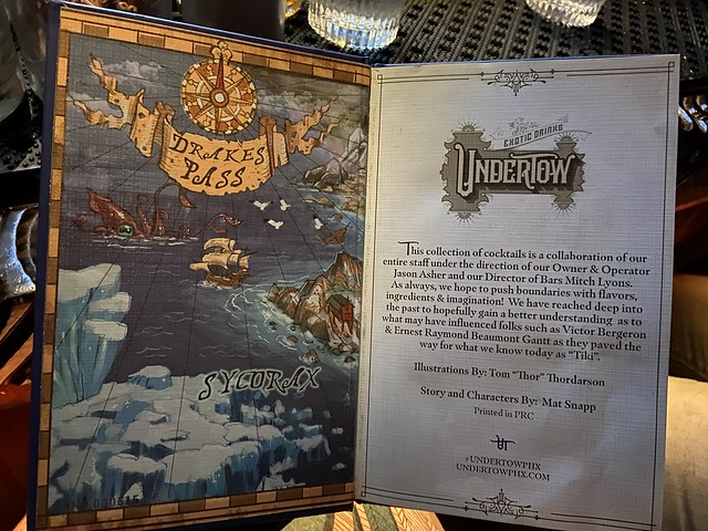UnderTow menu, chapter 7