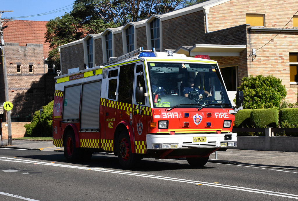 Fire Engine, Haberfield, Sydney, NSW.
