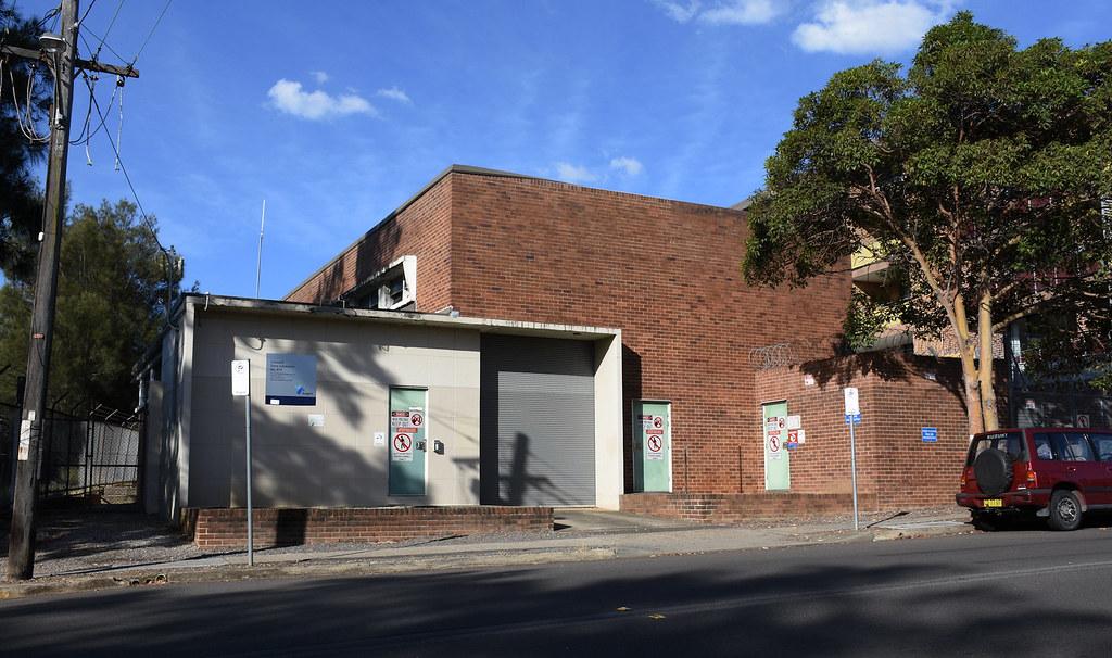 Electricity Substation, Nth Strathfield, Sydney, NSW.