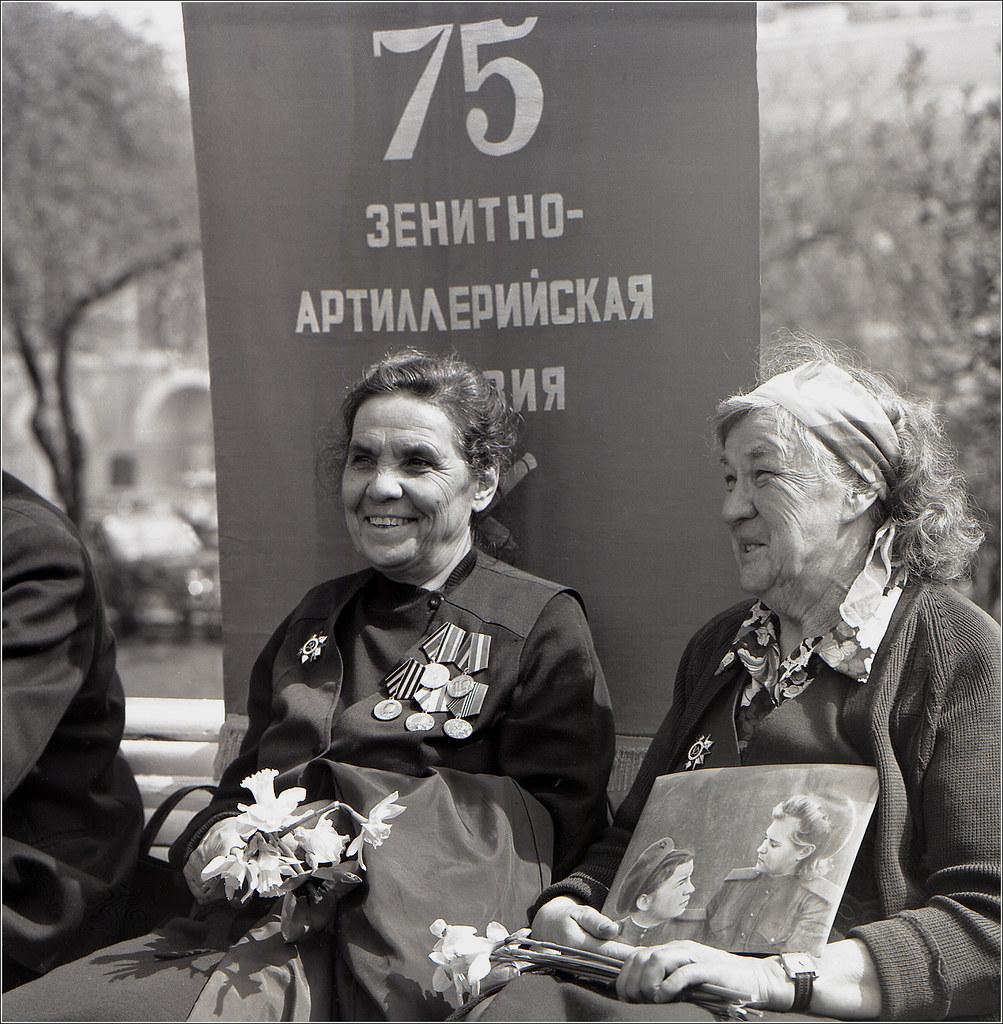 180. 1996. 9 мая. Встреча Ветеранов у Большого театра (2)