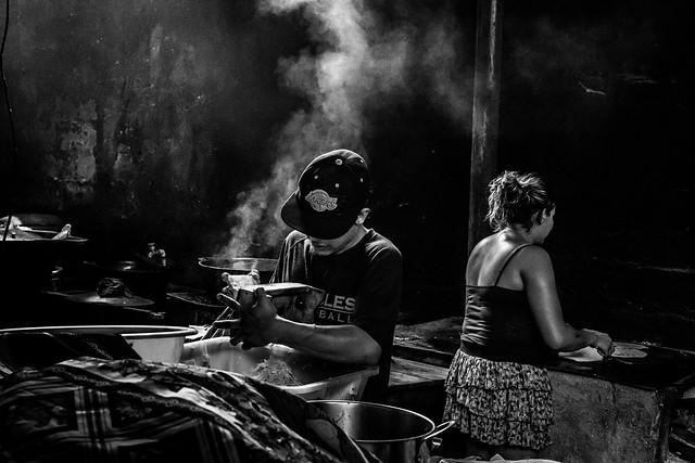 Popular Restaurant. Managua,Nicaragua.
