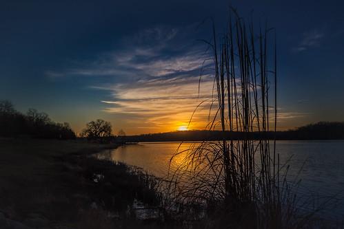 sunrise clouds water life morning naturephotographer kansasphotographer shawneemissionpark