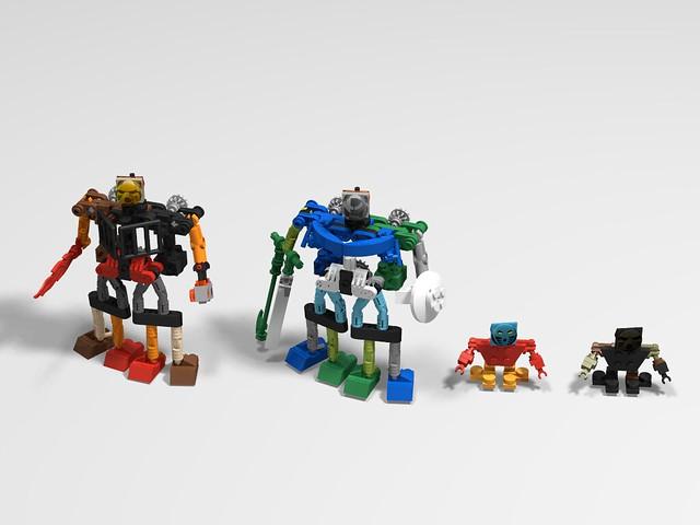 BIONICLE Legacy: Storytelling with LEGO Bricks