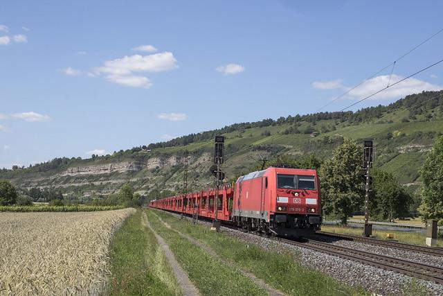 D DBC 185  375-3  Thüngersheim 24-06-2020