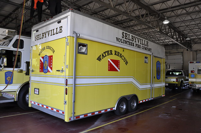 Selbyville Volunteer Fire Company, Selbyville, Sussex County, Delaware