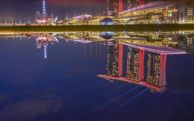 MarinaBaySands Reflection