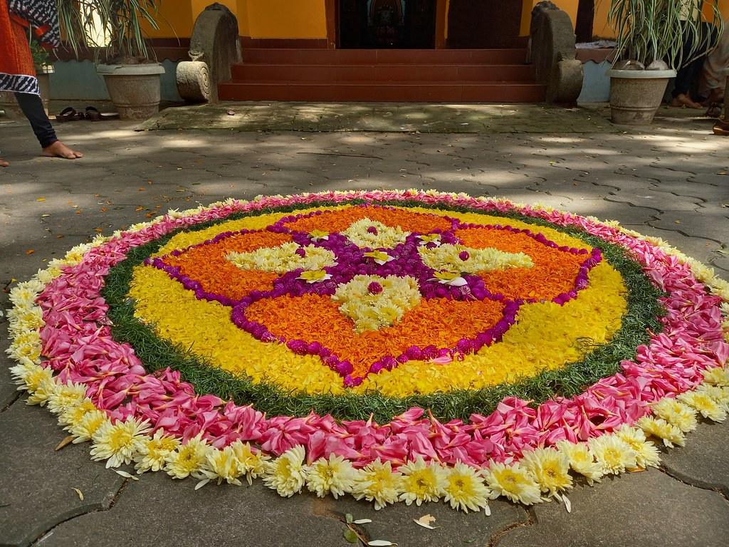 Onam Celebration Rangoli 2020