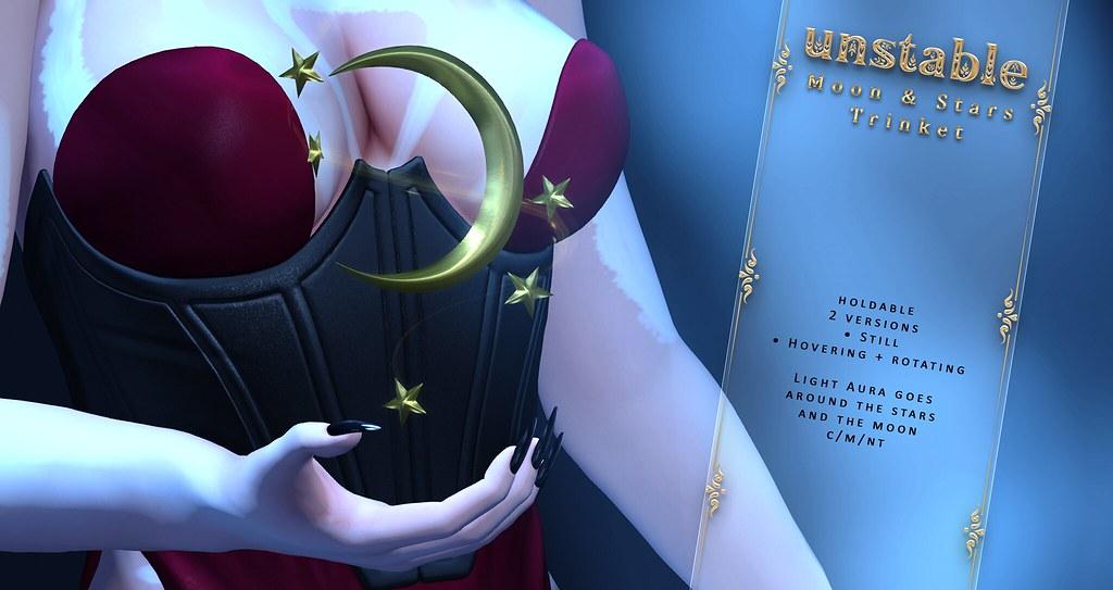 unstable. Moon & Stars – Trinket