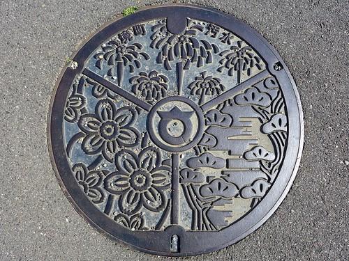 Sakai Gunma, manhole cover (群馬県境町のマンホール)