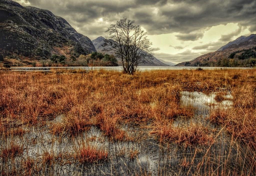 Glenfinnan Scottish highlands