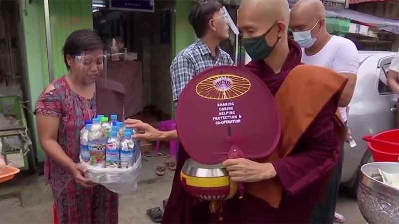 Manfaatkan Pindapata untuk Kurangi Sampah Plastik