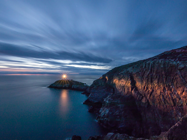 South Stack and Red Walls