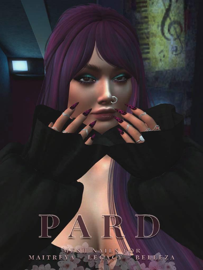 SC Pard Mesh Nails