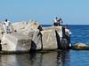 Palermo, v přístavu, foto: Petr Nejedlý