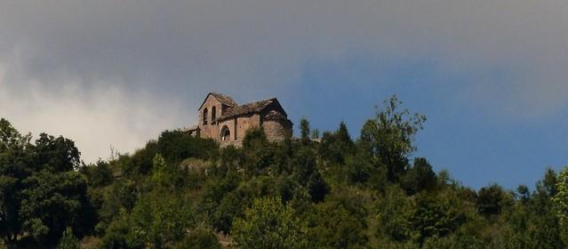 Sercué (Huesca, Aragón, Sp) – La vieja iglesia