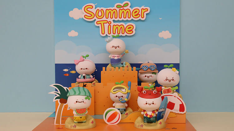 Pop Blind Box Collection summer series