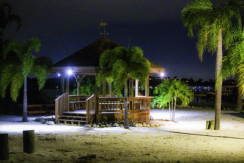 3d apollobeach beach d850 florida imran imrananwar lifestyle night nikon tampabay water gazebo luxuryhomes midnight nightlights nightsky privatebeach privateproperty