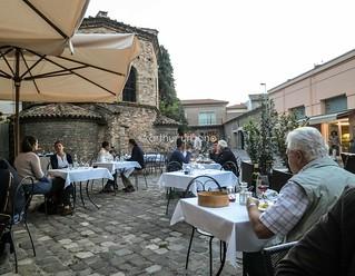 Dining by the Arian Baptistery (Ravenna, Italy)