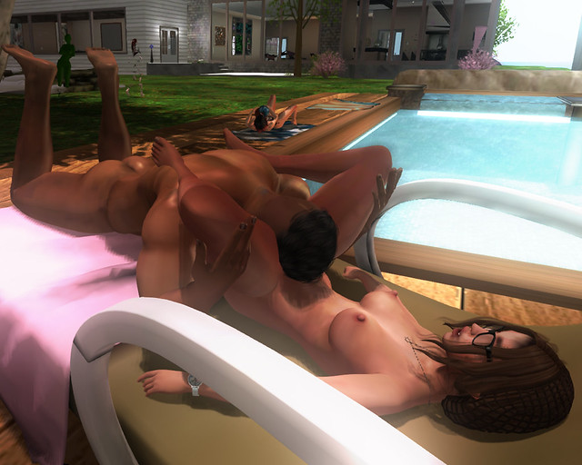 Poolside Orgasms