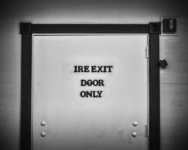 ire exit (still angry)
