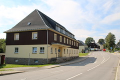Deutscheinsiedel: Ehemaliges Zollhaus am Grenzübergang zu Tschechien