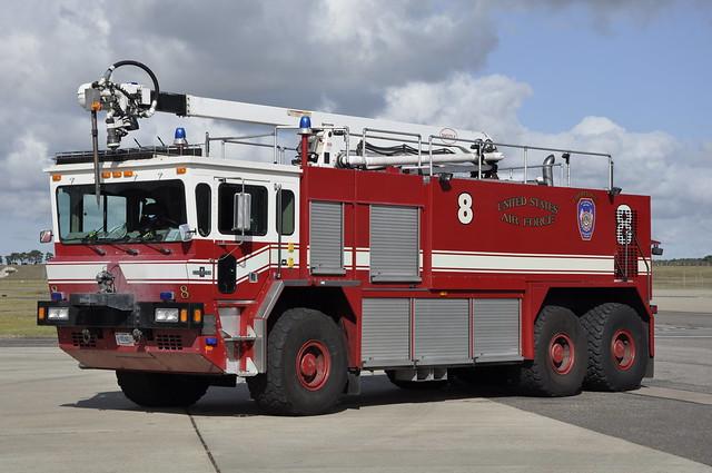 United States Air Force Fire Department, RAF Lakenheath, Suffolk, United Kingdom