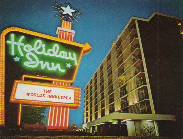 SE Hazel Park MI 1950s-60s THE HOLIDAY INN Motel Travel and Tourism ROADSIDE Family Vacation FUN Honeymoon and Business Traveler Accommodations1