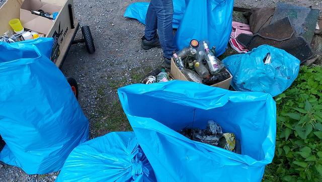 erstes Ruhr-clean-up im Jahr 2020