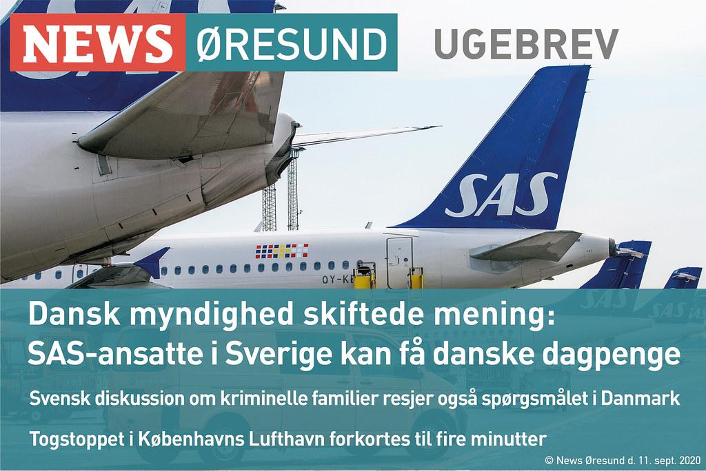 News Øresund ugebrev d. 11. september 2020