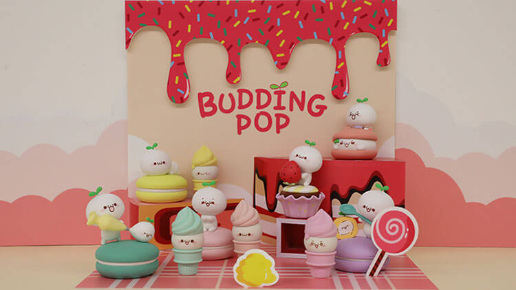 Budding Pop Blind Box Collection by MINISO