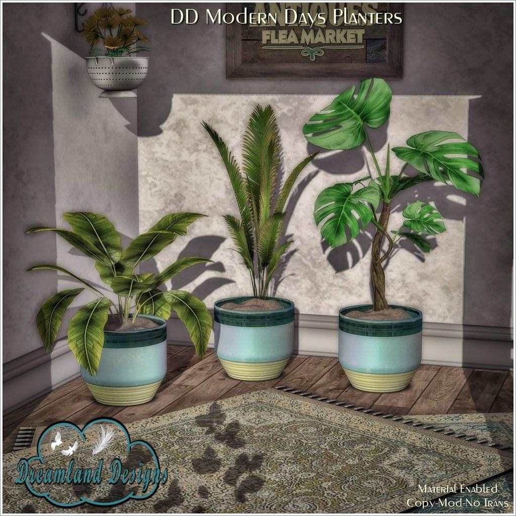 DD Modern Days Planters AD