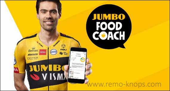 Jumbo Foodcoach App - Tom Dumoulin Banner