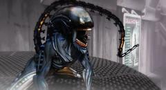 Alien xenomorph Mesh body Bento