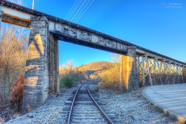 Crossing Tracks - Harriman, Tennessee