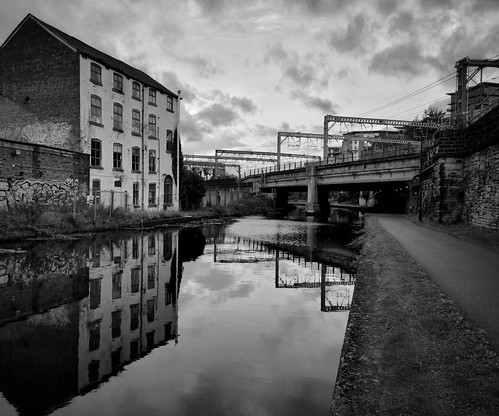 Leeds & Liverpool Canal Monochrome