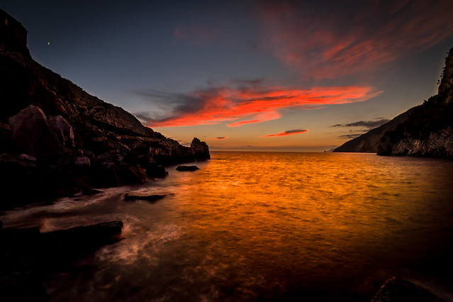 Coucher de soleil - Portovenere - Italie - 3