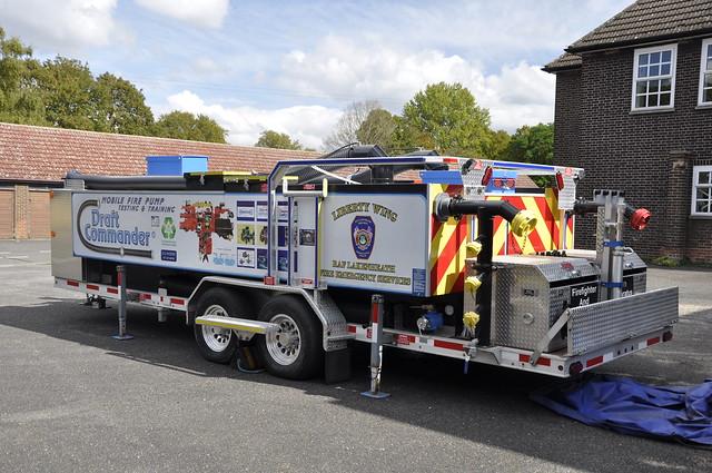 United States Air Force Fire Department, RAF Feltwell, Suffolk, United Kingdom