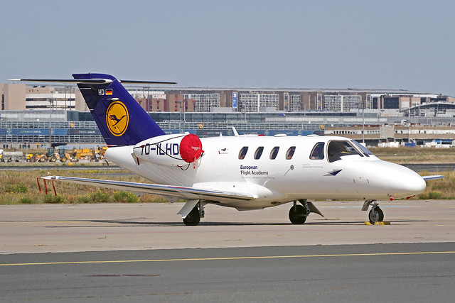 European Flight Academy (Lufthansa Aviation Training Germany) Cessna 525 Citation CJ1+ D-ILHD FRA 11-09-20