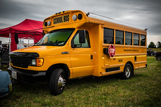 a cool SCOOL BUS
