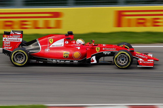 Sebastien Vettel 2015 Ferrari SF 15-T