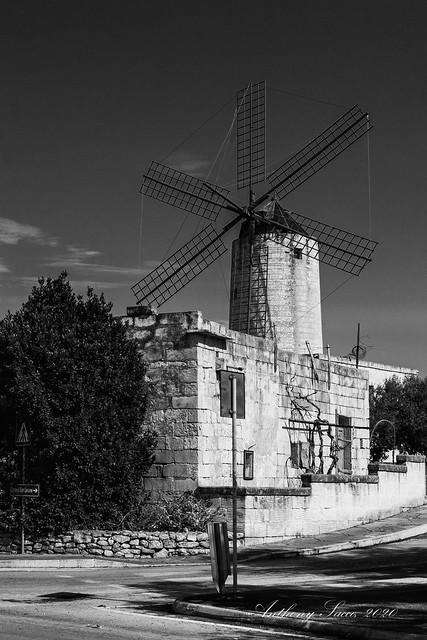 The Xarolla Windmill, Zurrieq, Malta, 2020