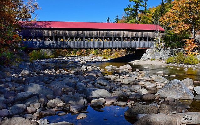 Saco River Covered Bridge 1890 - 2517Tb+