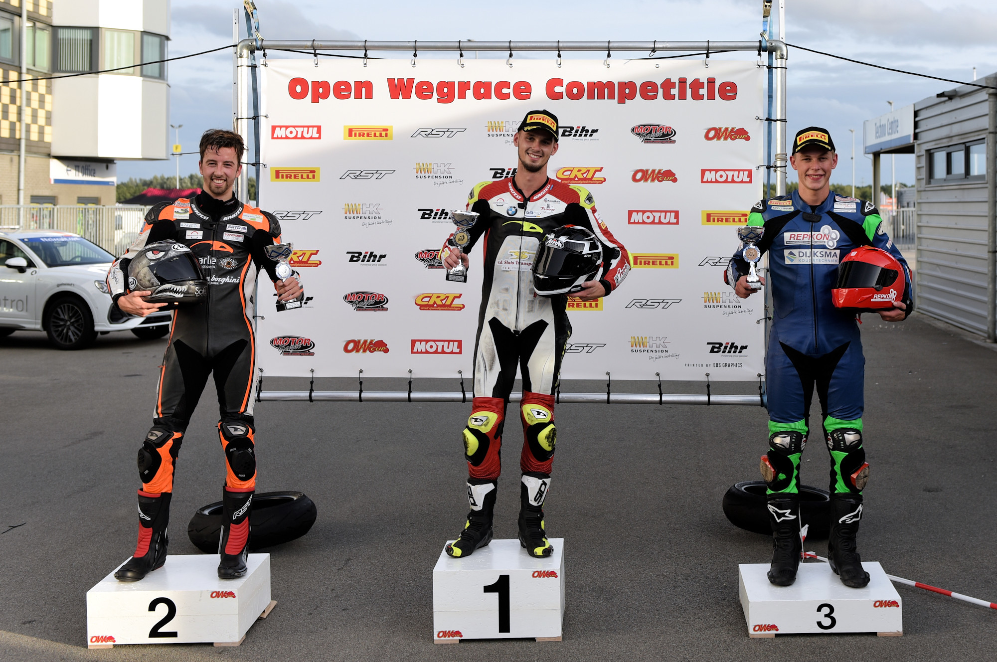 ONK SuperCup 1000 podium