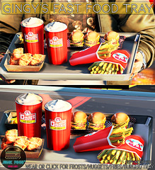 Junk Food - Gingy's Fast Food Tray