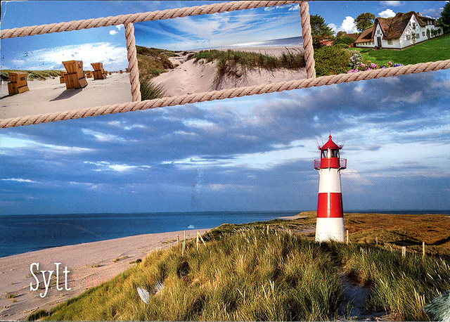 postcard - Sylt, Germany